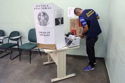 Apuração dos votos não foi realizada de forma secreta no primeiro turno das Eleições 2020