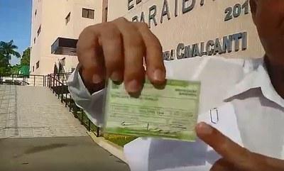 Confira a verdade sobre candidato a vereador que alega ter recebido oito votos na Paraíba